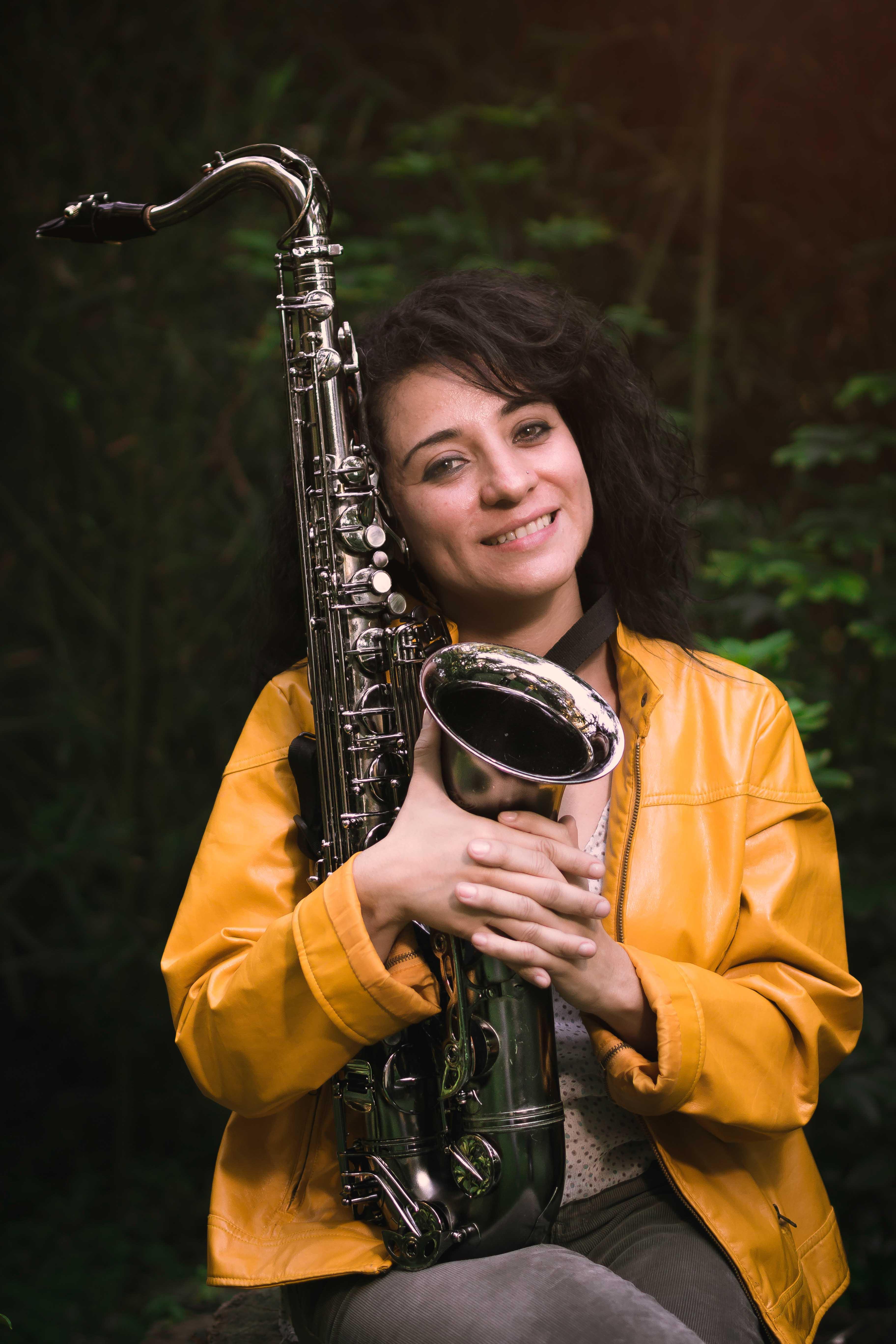 Foto saxofón